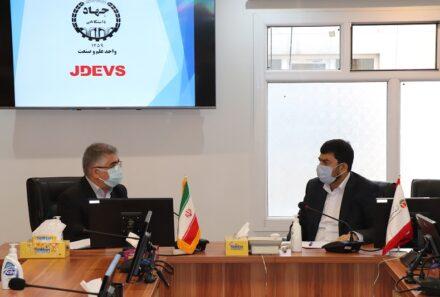 همافزایی شرکت گروه مدیریت سرمایهگذاری امید و جهاد دانشگاهی برای داخلیسازی قطعات