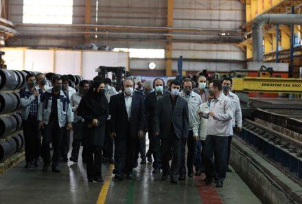 اتکا به توان ساخت داخل در کارخانجات تولید مخازن گاز طبیعی آسیاناما
