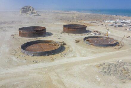 بهره برداری از طرح انتقال نفت گوره-جاسک با حضور رئیس جمهور